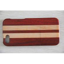 Cas de téléphone 2016 Suitale, couverture de téléphone en bois de mode