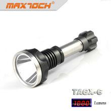 Maxtoch-TA6X-6 aus rostfreiem Stahl-High-Power-LED-Taschenlampe