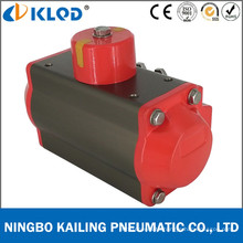 At100d Aluminum Double Acting Quarter Turn Pneumatic Actuator for Ball Valve