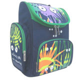 Printing School Backpack with 300D/PVC Fabric, Size 26*14.5*36.5CM