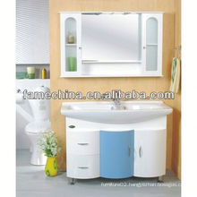 2013 White laundry tub with cabinet