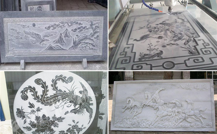 stone cnc router for granite marble