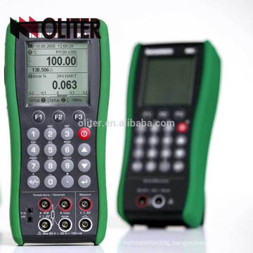 Testing Temperature and Humidity Multifunction Process Digital Handy Portable K type MC2-TE Calibrator