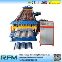FX ht688 hoja de metal piso cubierta cubierta máquina de construcción de rollo