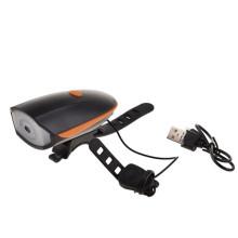 USB wiederaufladbare Fahrradklingel Licht wasserdicht