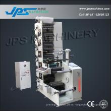 CE aprobó 320 mm de ancho de la máquina de impresión de seis colores
