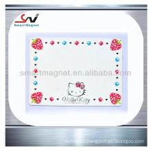 China wholesale giveaway fridge advertising magnet notebook