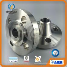 АСМЕ Б16.5 Нержавеющая сталь 304 дюймов и классом давления cl150 ковка Фланец WN Фланец RF (KT0314)