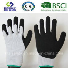 Nitrile Coating, Sandy Finish Safety Work Gloves (SL-NS119)