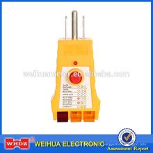 Moniteur d'énergie électrique de moniteur de puissance enfichable de Merer de moniteur de puissance de Digital Meter WH305