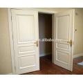 Bisagra certificada CE doble puerta de madera blanca interior