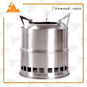 Портативный складной открытый кемпинг дровяная печь