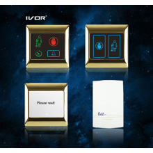Hotel Doorbell System Touch Panel in Metal Outline Frame (SK-dB2001SYS)