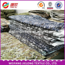 Military Garment Printing Twill Cotton Camouflage Fabric made in china 190gsm up cotton and polye permanent camouflage fabric
