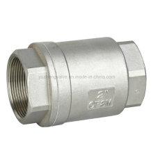 Válvula de retención vertical Ss 304/316