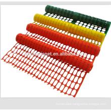 Orange plastic road Safety barrier Fencing