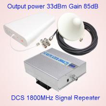 Repetidor de 2W 1800MHz, impulsor de la señal de la célula del G / M 4G Aumentador de la señal del teléfono celular Aumentador de la señal de las telecomunicaciones