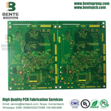 6 Layers Multilayer PCB 1oz ENIG 2U
