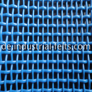 Linear screen cloth
