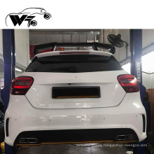 Revozport's carbon fiber material and single deck modified spoiler for Benz A class w176 A250/A260/ A45