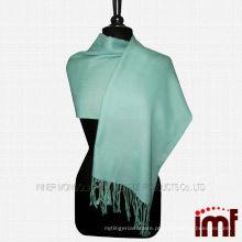 Vestido de lã de inverno das mulheres envolve o xaile