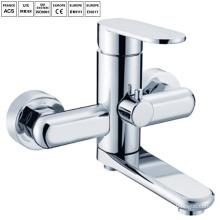 Ванная комната настенные ванна и душ смесители