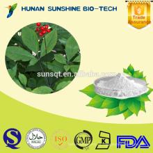 Venta caliente regenerar la renovación celular polvo de extracto de ginseng 98% ginsenósido Re