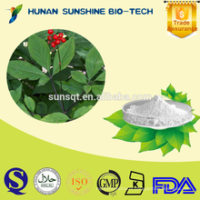 Hot sale regenerate cell renewal Ginseng extract powder 98% ginsenoside Re
