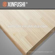 Holzplatte für den Korea Markt