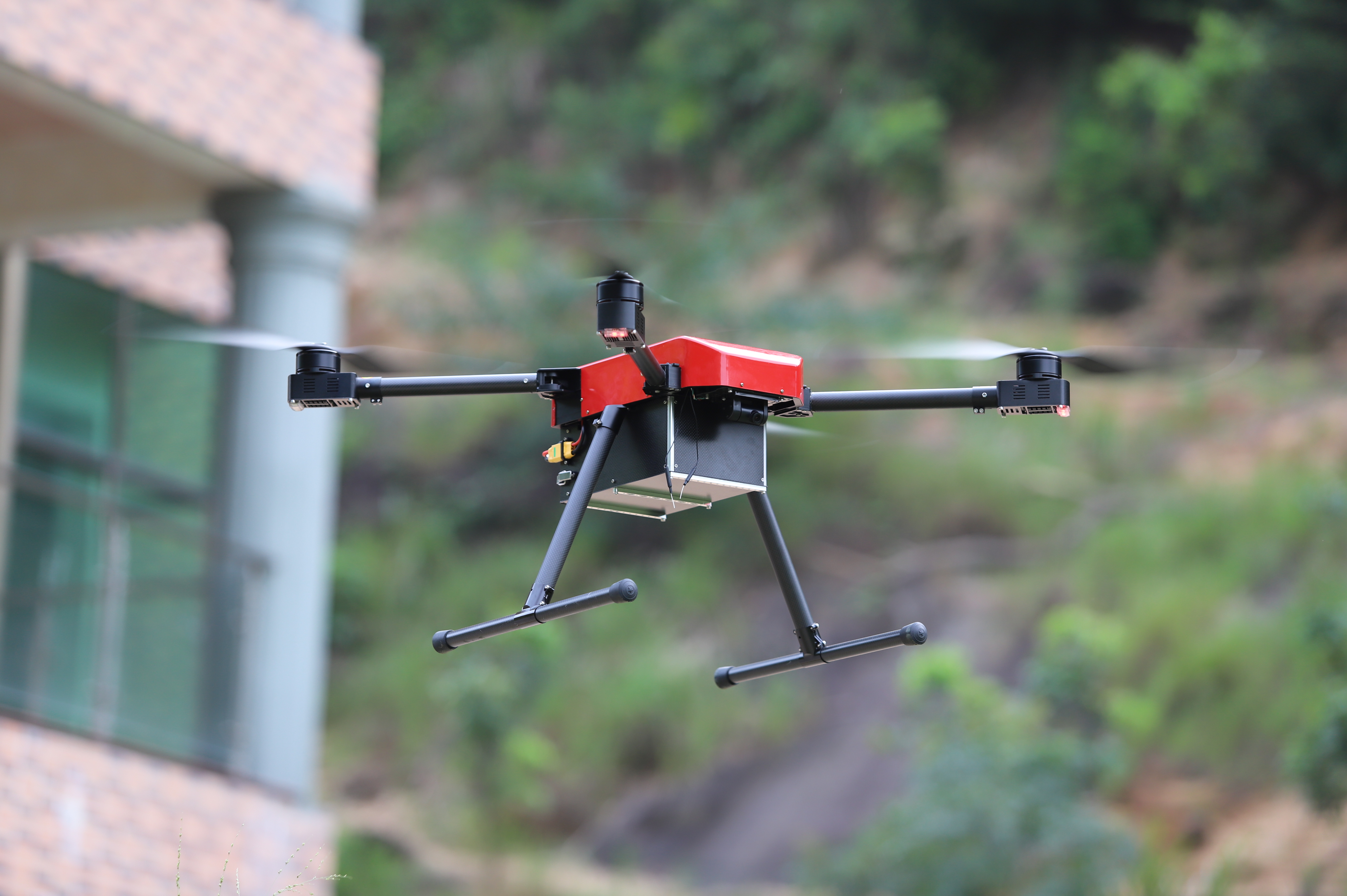 DIY long flight portable drone Frame