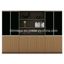 Estante y gabinete de la oficina de gama alta (FOH-HAW802K)