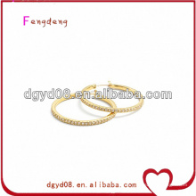 (WS3638) joyas de acero inoxidable 316L pendientes de aro para orejas