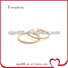 (WS3638) 316L bijoux en acier inoxydable Hoop boucles d'oreilles pour les oreilles