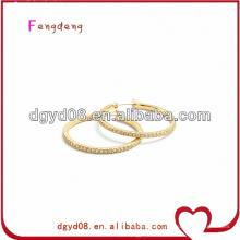 (WS3638)316L Stainless steel jewelry Hoop earrings for ears