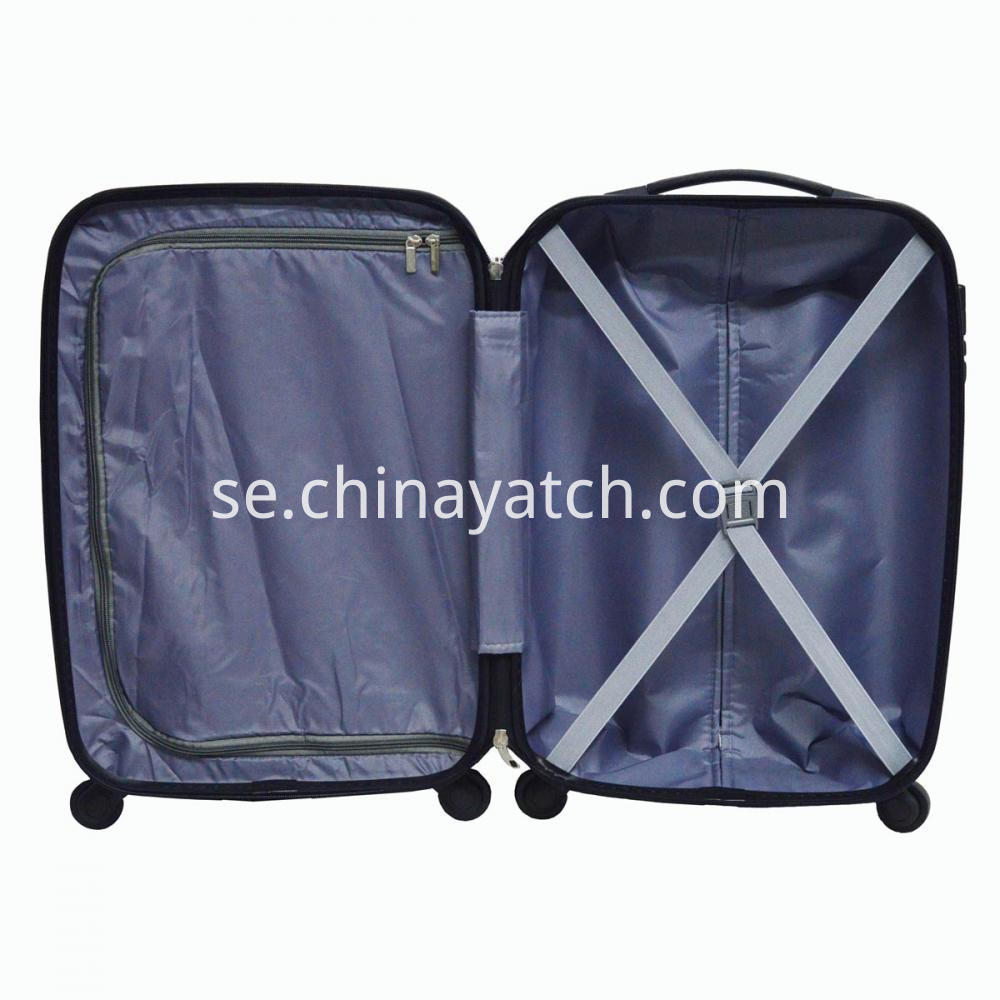 Abs Pc Spinner Suitcases