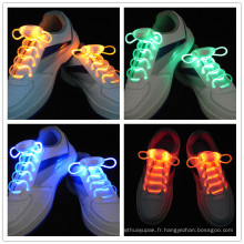 Allumer les lacets de LED Flash Party Disco Shoe Strings