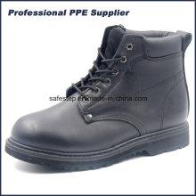 Высокий Срез Натуральной Кожи И Goodyear Рант Промышленных Рабочих Ботинок