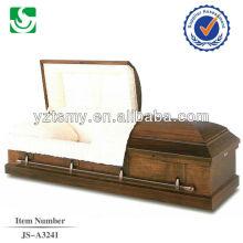 Calificado bien tallado ataúd cremación cartón religiosa