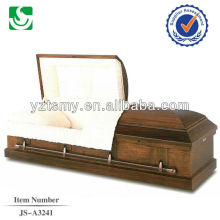 Qualified well carving religious cardboard cremation casket