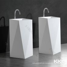 italian wash basin free standing marble washbasin