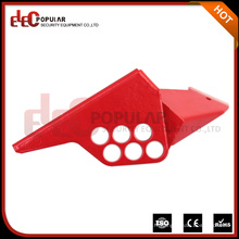 CE Certifié en une seule pièce Verrouillage de la vanne à bille couleur rouge Ep-8209
