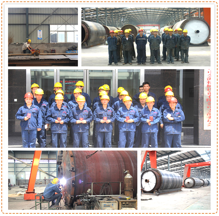 Waste Rubber Oil Distillation Equipment