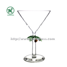 Single Wall Wine Glass by SGS (DIA12*18)