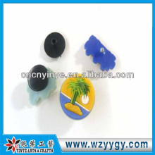 pvc plastic cute shoe buckle for children souvenir