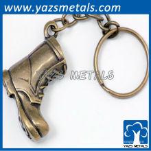 Kundenspezifische Art und Weiseschuh keychains