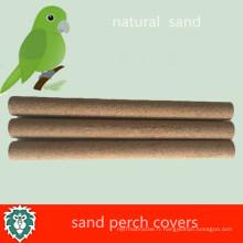 Couvertures de perche de sable de cage d'oiseau d'animal familier qui respecte l'environnement