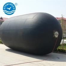 Certificado ISO Evergreen Maritime Barco guardabarros de goma con cadena de neumáticos