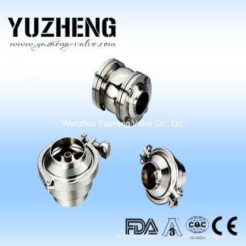 Válvula de retención higiénica de acero inoxidable