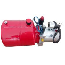 Unidade de energia hidráulica de dupla ação para dumper