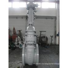 Válvula de compuerta de extremo de brida grande de 150lb 300lb 600lb